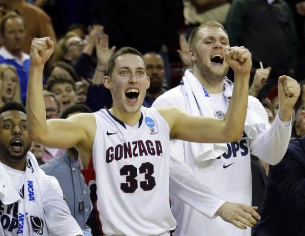 Gonzaga beat Iowa