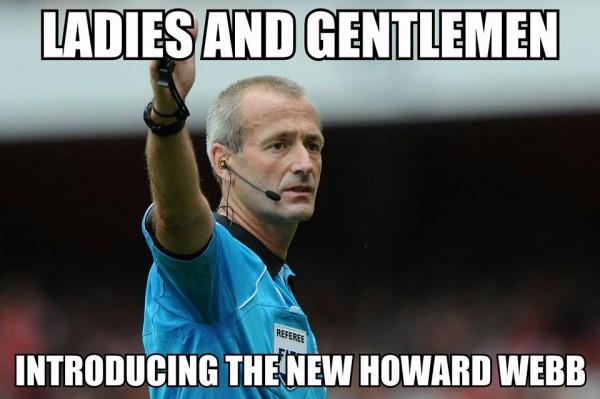New howard webb