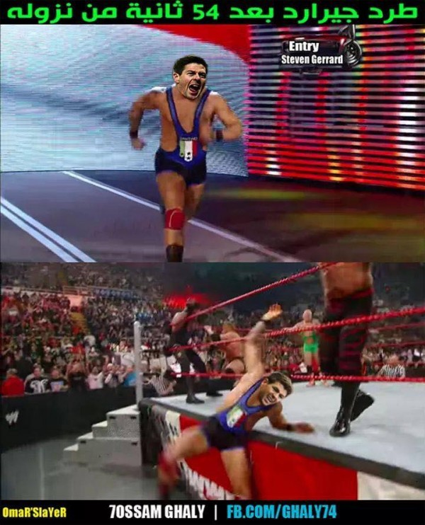 Royal Rumble out