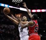 Spurs beat Bulls