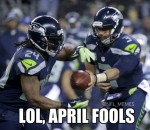 April Fool's Seahawks