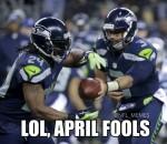 April Fool's Seahawks