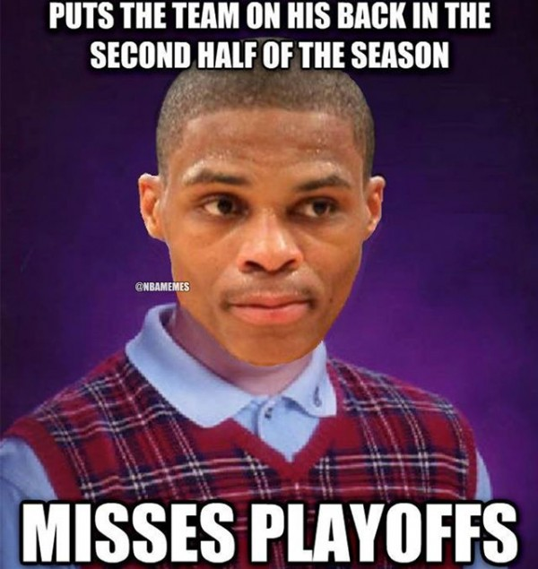 Bad Luck Westbrook