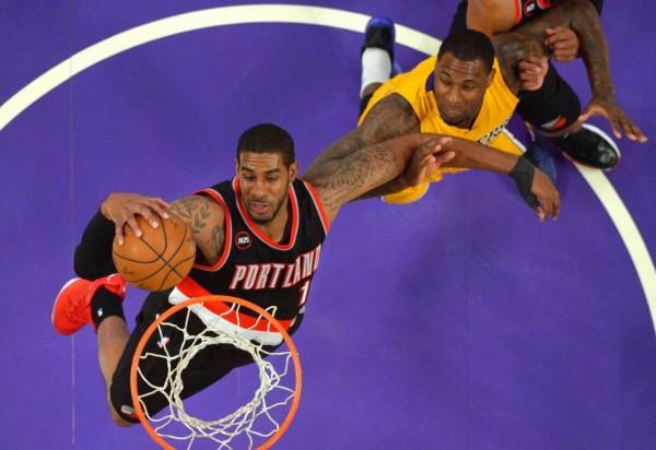 Blazers beat Lakers