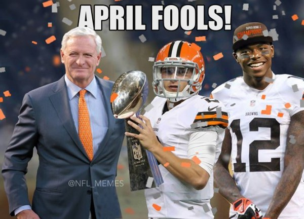 Browns April Fools