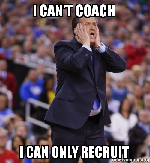 Can't coach meme