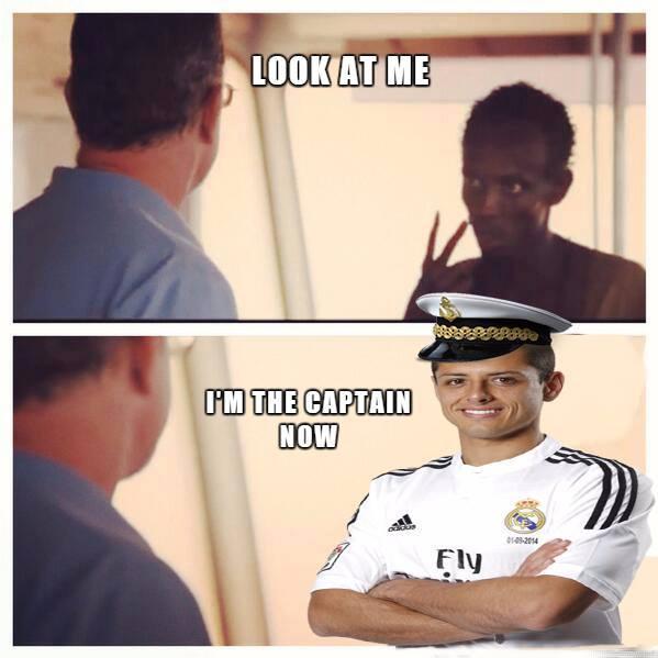 Captain Chicharito