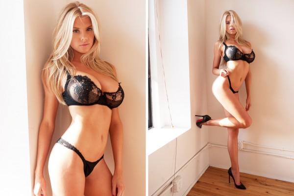 Charlotte McKinney twice