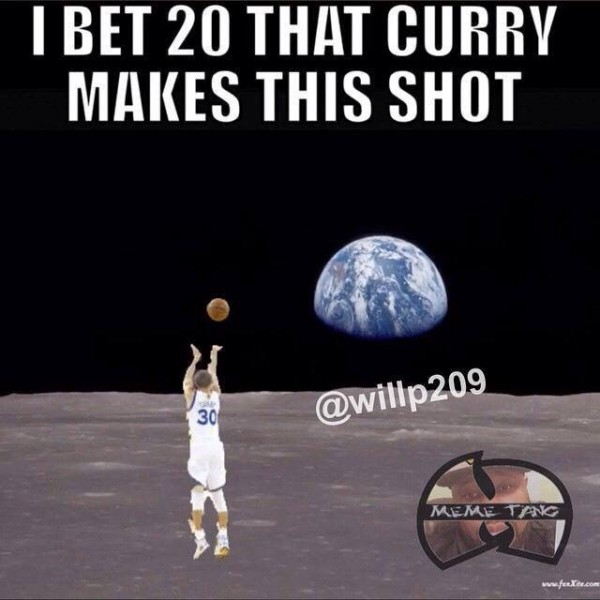 Curry can't miss