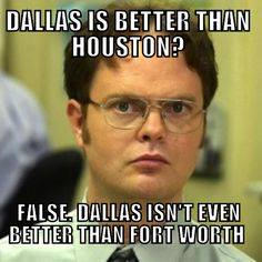 Dallas isn't better