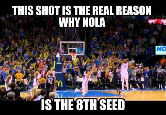 Davis is the real MVP