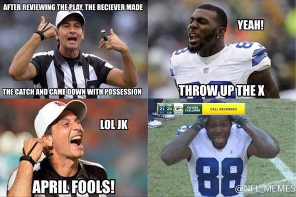 Dez Bryant April Fools