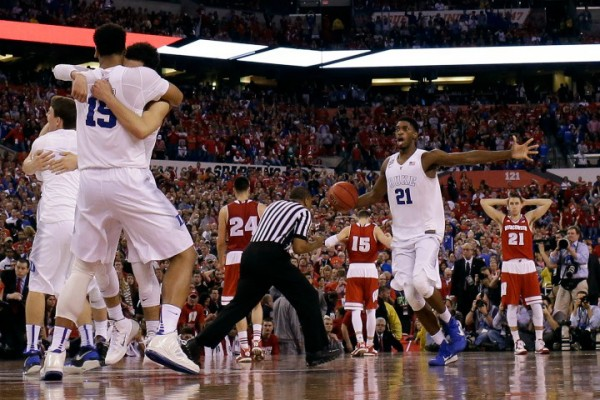 Duke beat Wisconsin