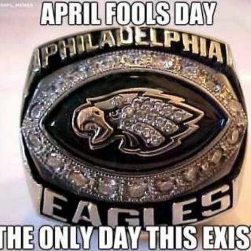 Eagles April Fools