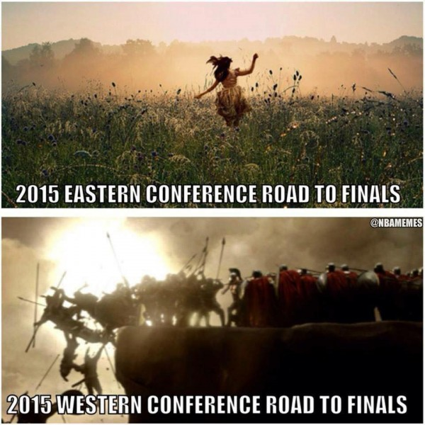 East vs West