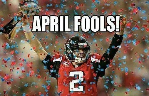 Falcons April Fools