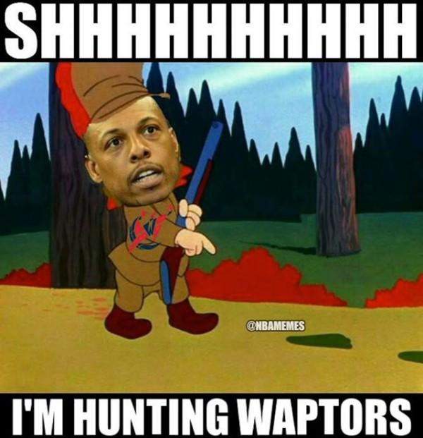 Hunting Waptors