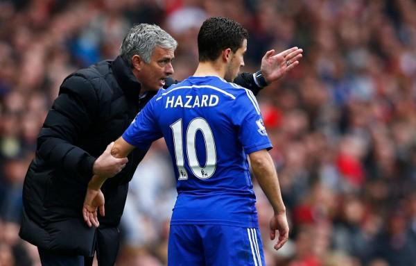 Jose Mourinho, Eden Hazard