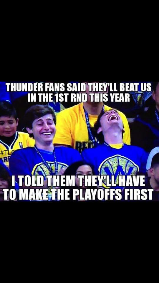Laughing at Thunder