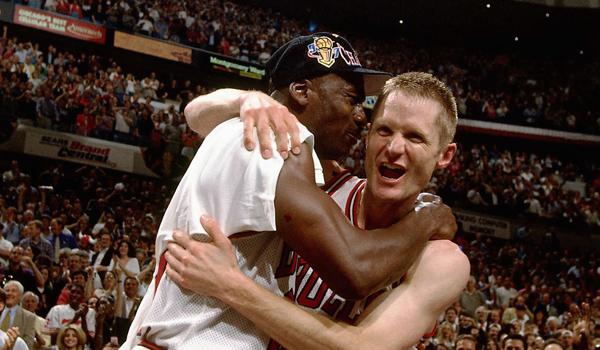 Michael Jordan, Steve Kerr