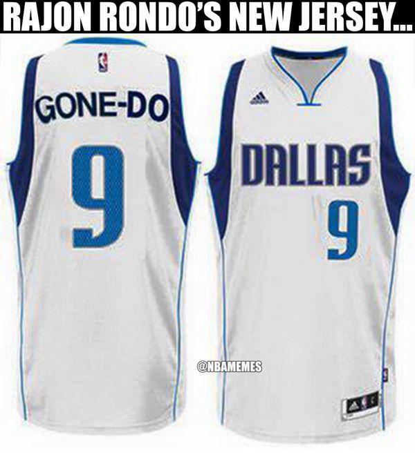New Rondo jersey
