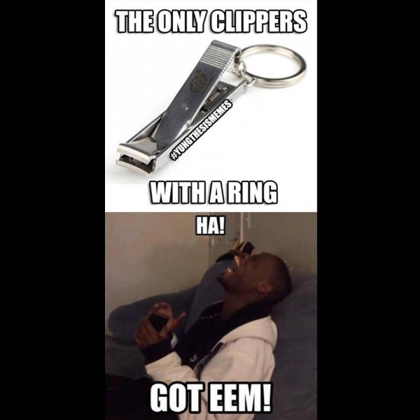 Only Clippers with a ring