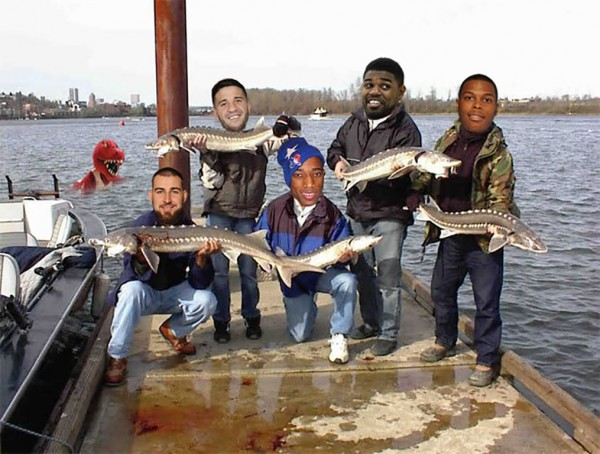 Raptors gone fishing