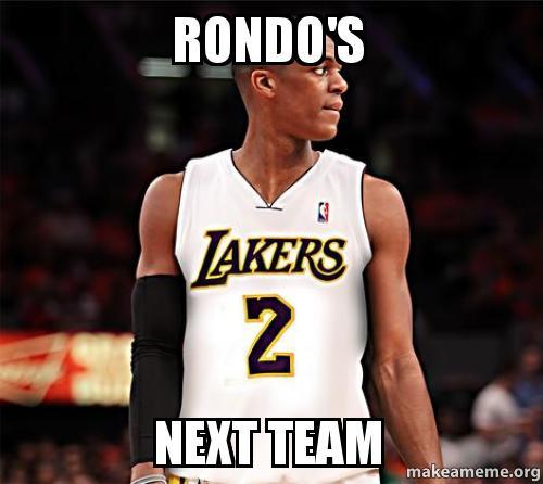 Rondo's next team