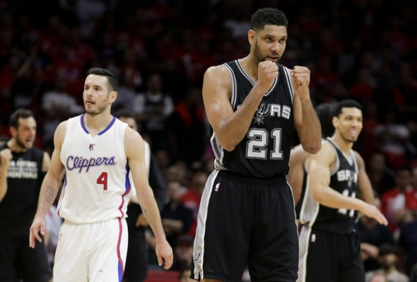 Spurs beat Clippers