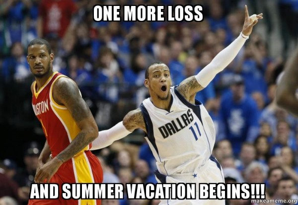 Summer vacatio meme