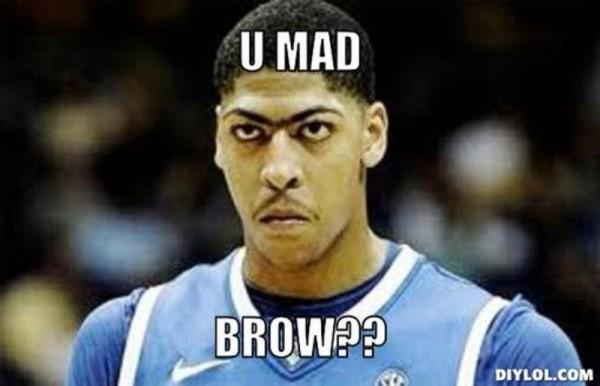 U Mad Brow