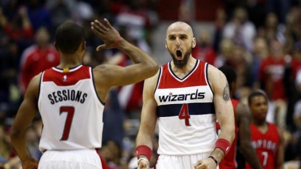 Wizards sweep Raptors