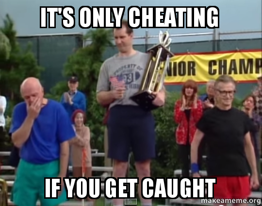 its-only-cheating