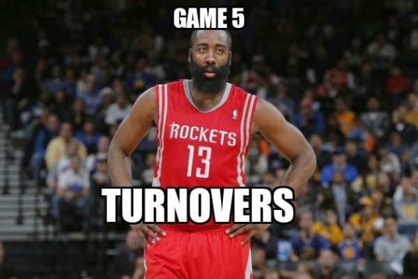 13 turnovers