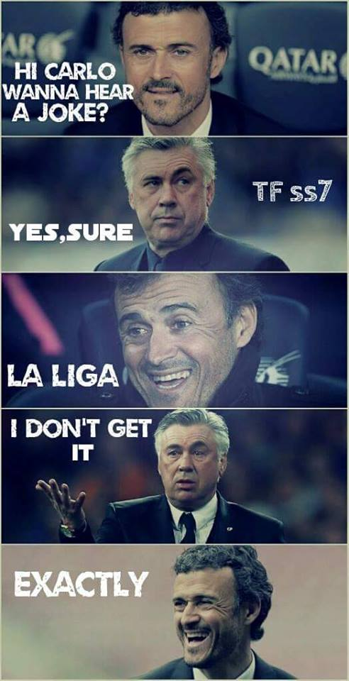 Another La Liga joke