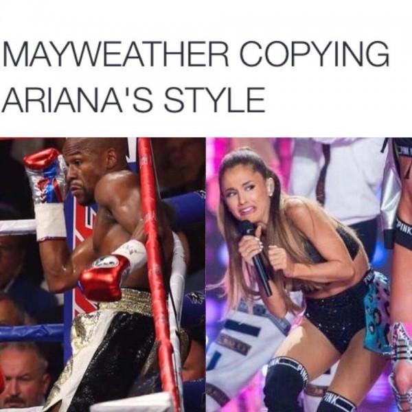 Ariana Grande, Mayweather