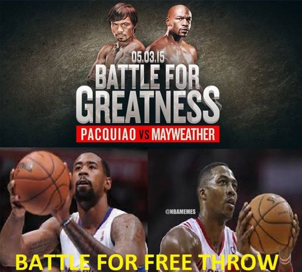 Battle for the free throw