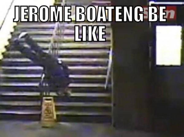 Boateng be like