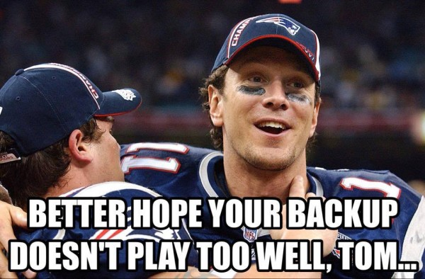 Brady's backup