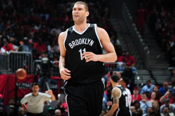 Brook Lopez of the Brooklyn Nets