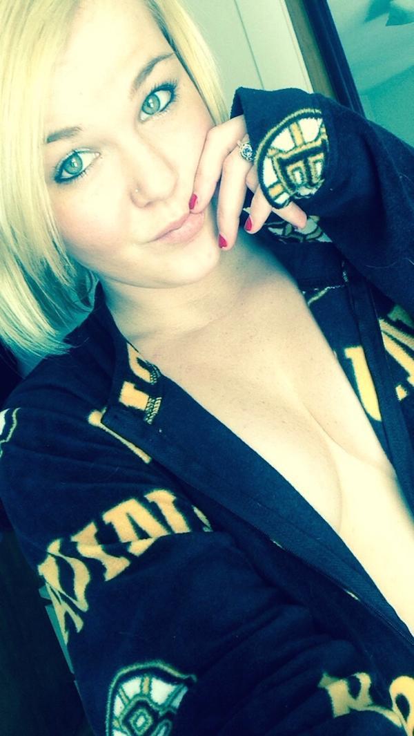 Bruins selfie