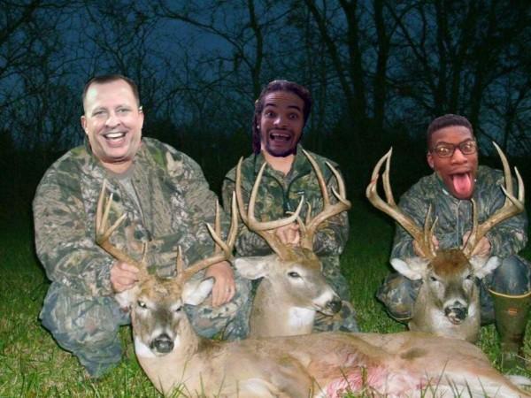 Buck hunters