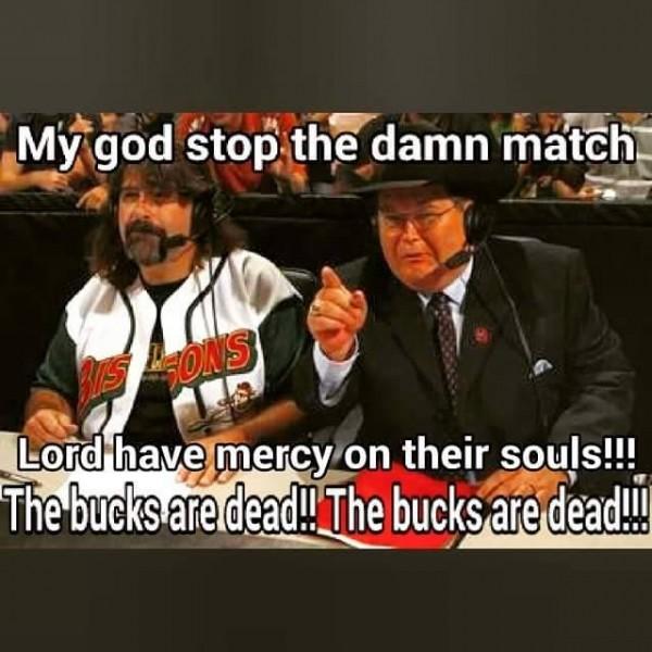 Bucks are dead