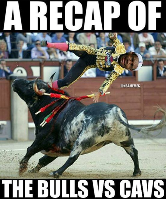 Bulls Cavs meme