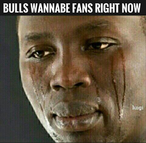 Bulls fans right now