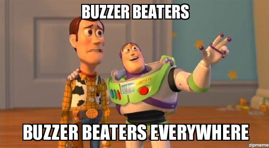 Buzzer beaters Everywhere