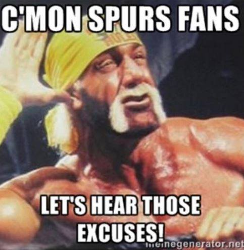 C'Mon Spurs fans