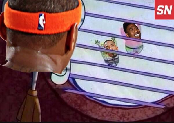 Carmelo be like