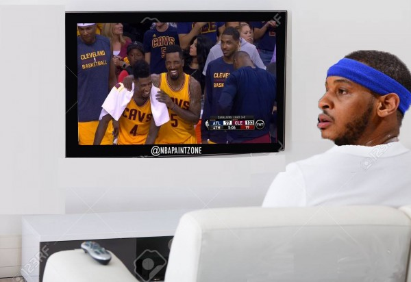 Carmelo right now
