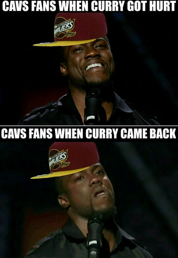 Cavs fans before and after